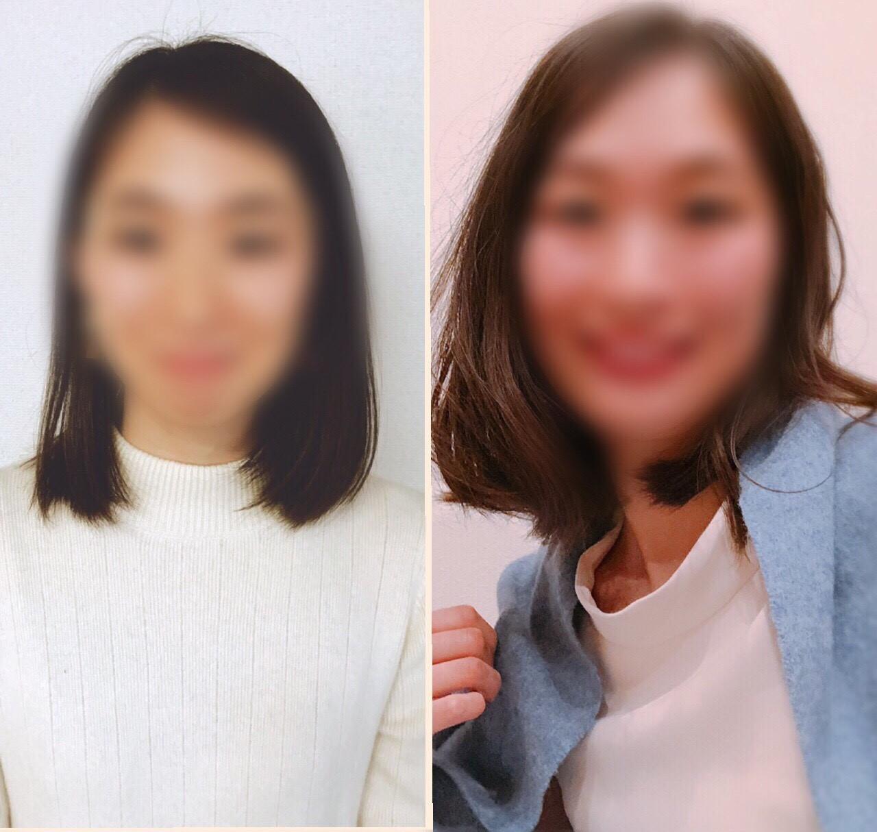 左寄せの画像